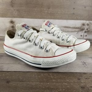 White Converse Low Top Sneakers